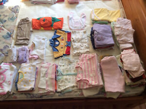 All season Girl's clothes - size 6 mths + 6-9 mths + 6-12 mths