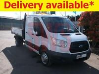 2015 Ford Transit 350 2.2 4 door Tipper DAMAGED REPAIRABLE SALVAGE