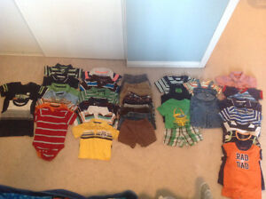 Summer clothing Lot,  size 12 months for boy!