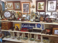 Garage Sale..antiques, collectables, steam punk lamps...much mor