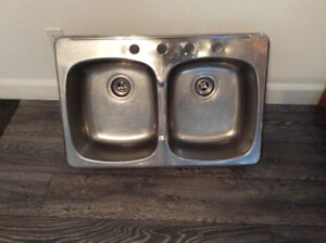 Lavabo Stainless double