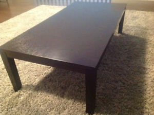 Coffee Table with Matching 2 End Tables and Media Stand