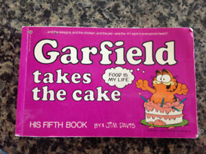 GARFIELD Takes the Cake Book