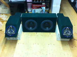 """Jeep YJ highly customized stereo system 2x 12"""" + 2x 8"""" subwoofer Windsor Region Ontario image 1"""