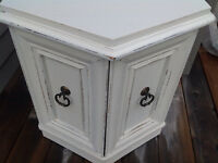 Table d'appoint shabby-chic