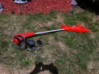 Black and Decker Weed Wacker with Battery Charger