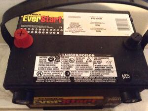 Batterie presque neuve