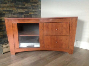 Beautiful solid wood TV table