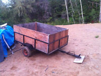 4x6 Utility Trailer (REDUCED)