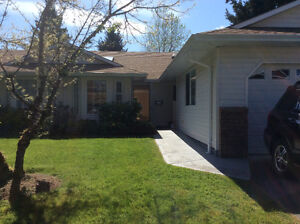 Lovely private Patio Home Courtenay