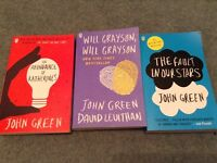 3 X John Green books price is for all 3