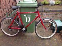 Vintage Raleigh Mountain Bike