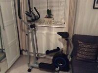 Pro fitness cross trainer/bike!!!