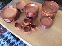 Italian earthenware crockery