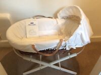 A Lovely Mothercare Moses Basket