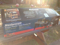 Mastercraft Router/Router Table Combo Kit