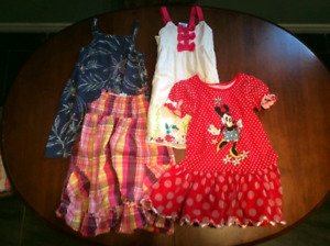 Girls 4T clothing lot for all seasons