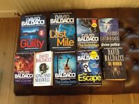 Collection of Baldacci books