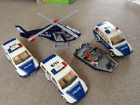 Playmobil police vehicle bundle