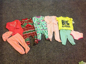 6 months girls' clothing lot - several brand new items!
