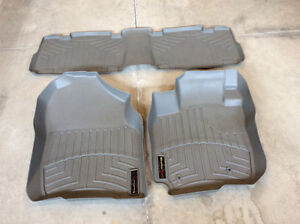 Weather Tech mounded floor mats
