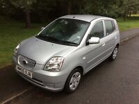 2005 Kia Picanto 1.1 LX-12,000-2 lady owners-April 2018 mot-service history-£30 tax
