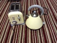 Morphy Richards kettle and toaster set