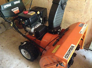 Snowblower - Columbia Extreme - New Condition- Used Once