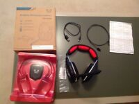 PS3/4 wireless gaming headset