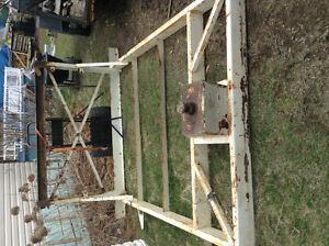 Frame pour trailer fift wheels