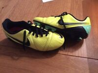 Size 3 football boots nike