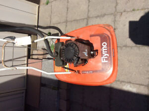 FLYMO FLOAT ON AIR LAWNMOWER.        SOLD