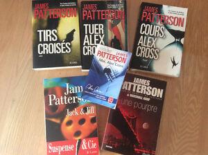 SIX ROMANS DE JAMES PATTERSON