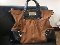 Karen Millen leather handbag in good condition