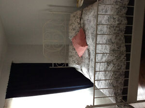 Superbe lit Ikea et matelas à vendre