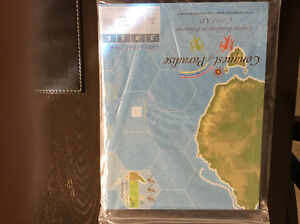 GMT Mounted Map for Conquest of Paradise Boardgame London Ontario image 1