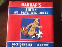 Dictionnaire  bilingue/bilingual Harrap's / TINTIN