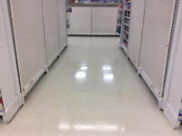 Commercial Cleaning / Strip and Wax specials