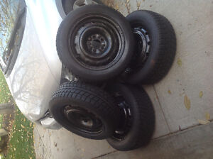 Honda Civic Winter Tires and Rims For Sale