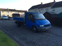 FORD TRANSIT TIPPER PICK UP