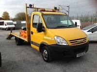 Iveco Daily 35c15 beaver tail with ramps 2008