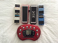RotoVibe, Line6 X3, Vox Wah and 4 Pedals (300$)