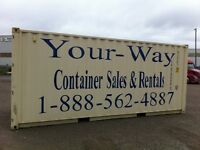 Huntsville mobile containers from 80.00 per month