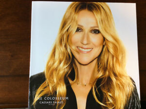 New Céline Dion book bought in Las Vegas