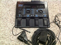 Roland GR 30 Guitar Synth with GK2a Pickup, power chord, 13 pin