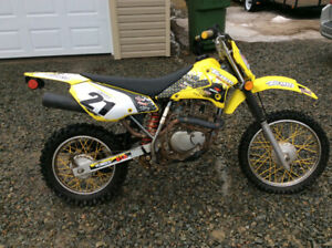 2003 suzuki drz125 with active off road plate