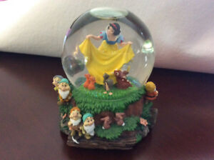 Disney Snow Globes/ Musical
