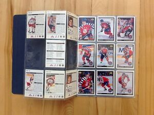 McDonald Allstar Hockey Upper Deck Cards 1992-93 West Island Greater Montréal image 2