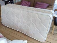 Two Single memory foam mattresses