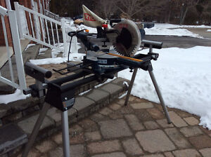 Compound Miter Saw with Stand